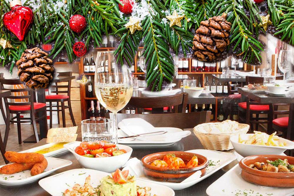 Weihnachtsfeier in der Tapas Bar EL IBERICO